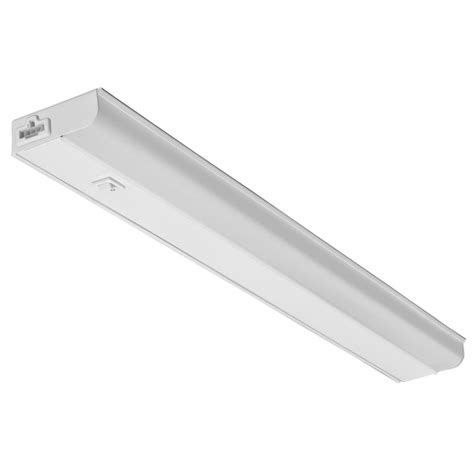 Juno 18 In White Led Dimmable Linkable Under Cabinet Led Light Cabinet