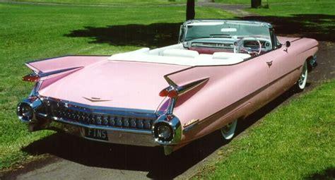 59 Cadillac Blue Bue Card 1959 cadillac convertible fins pink caddys