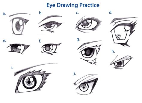 Practice Drawing eye drawing practice by raynes88 on deviantart
