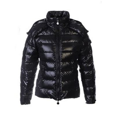 Jaket Simpel Elegan Hooded Jacket moncler bady quilted hooded black jacket