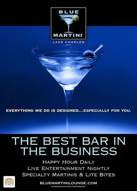 17 best images about blue martini lake charles golden