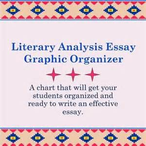 Literary Analysis Essay Graphic Organizer by Pin By Wooten On Language Arts And Literacy