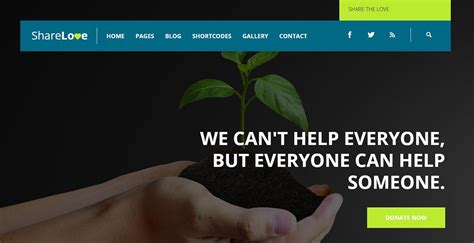 25 Non Profit Website Templates For Not For Profit Entities Free Non Profit Website Templates
