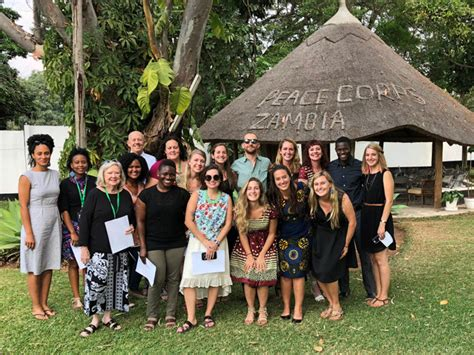 Duke Mba Peace Corps by From To Zambia An Msc Gh Grad Joins The Peace Corps