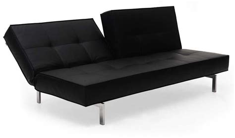 Black Leather Convertible Sofa Black Leather Textile Convertible Sofa Tennessee J M K01