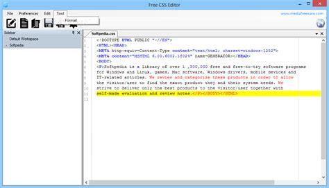design editor download free free css editor download