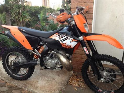 2008 Ktm 200 Xc Enduros 2008 Ktm 200 Xc W Was Listed For R35 000 00 On