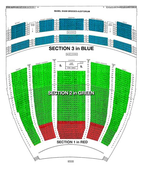 auditorium seating chart inland pacific ballet bridges auditorium seating chart