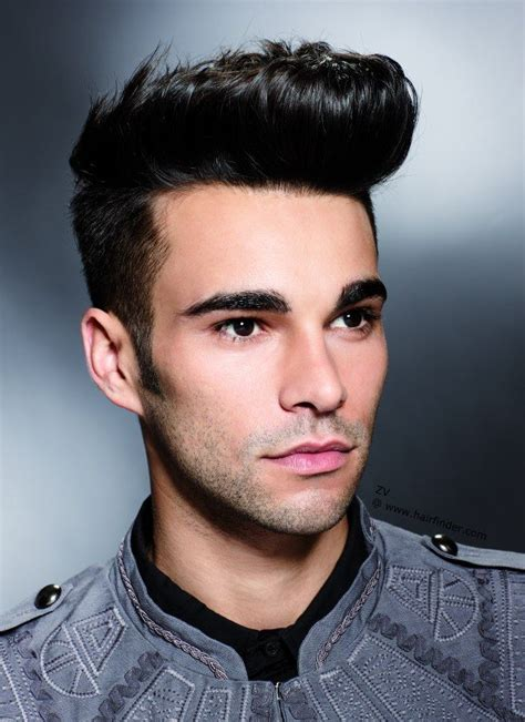 guys hair style poof in front sexy quiff and crewcuts on pinterest quiff hairstyles