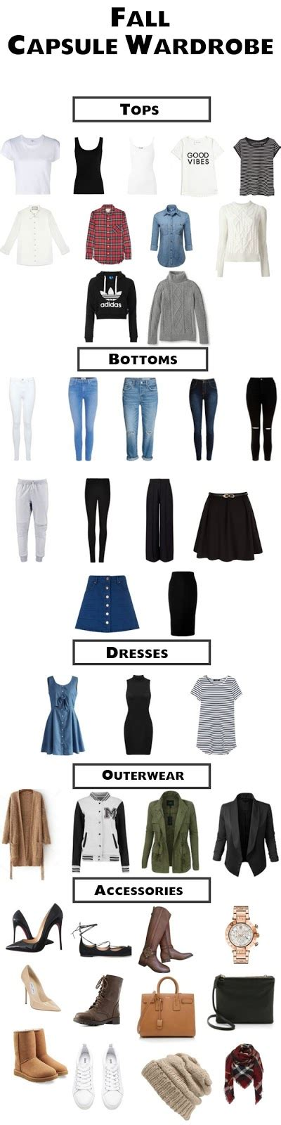 perfect capsule wardrobe how to create the perfect college capsule wardrobe color