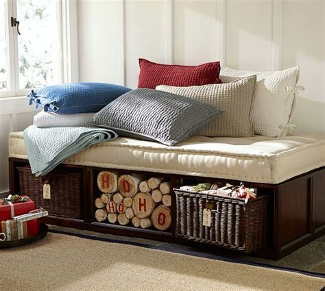 stratton daybed stratton daybed with baskets pottery barn for the home pinterest pottery daybeds and