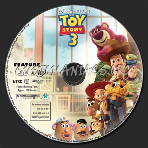 label story 3 story 3 dvd label dvd covers labels by