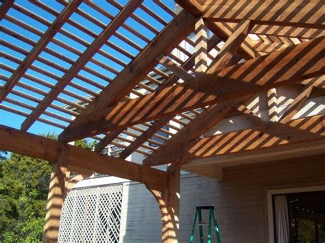 how to build a gable roof pergola 1000 ideas about pergola plans on pergolas