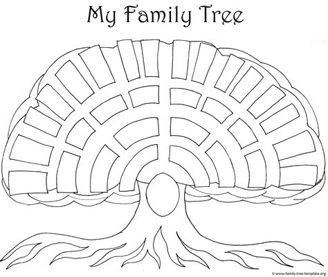 Family Tree Templates Genealogy Clipart For Your Ancestry Map Family Tree Template Blank Tree Template