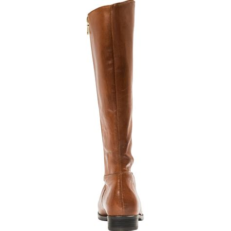 light brown riding boots annie light brown quot cuoio quot nappa leather zipper in the back