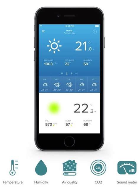 how home automation helps smartphone controlled weather