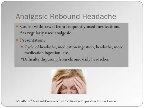 Migraine Rebound Detox by Pmn Certification Session V