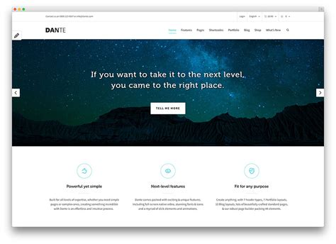 theme wordpress dante 20 professional wordpress multi purpose themes 2017 colorlib