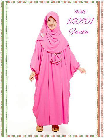 Set Baju Muslim Nmkrmanilamaroon jual set busana muslim gamis jilbab pesta anak aini 160901 azas moeslim wear