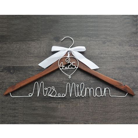 Wedding Hangers by Hanger With And Date For Your Wedding Wedding