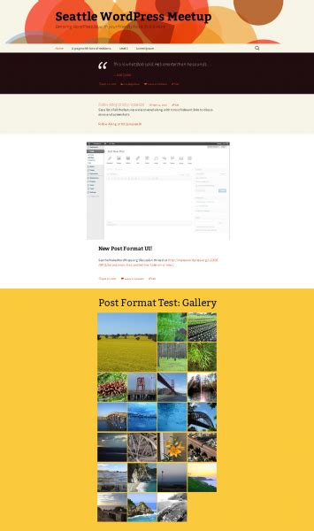 x theme blog date format post formats are coming blog mrw web design