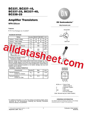 transistor bc337 16 transistor bc337 16 28 images bc337 16 297381 pdf