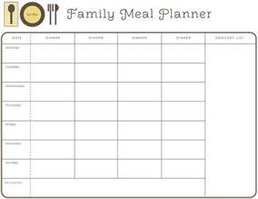 cing menu planner template weekly month planner template for food search