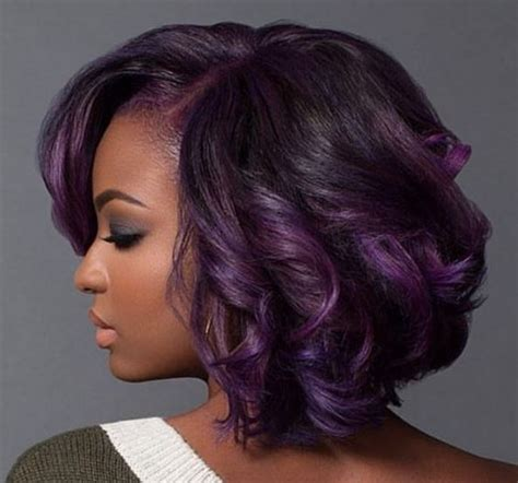 purple hair for black women purple and fab with macleantemu http community