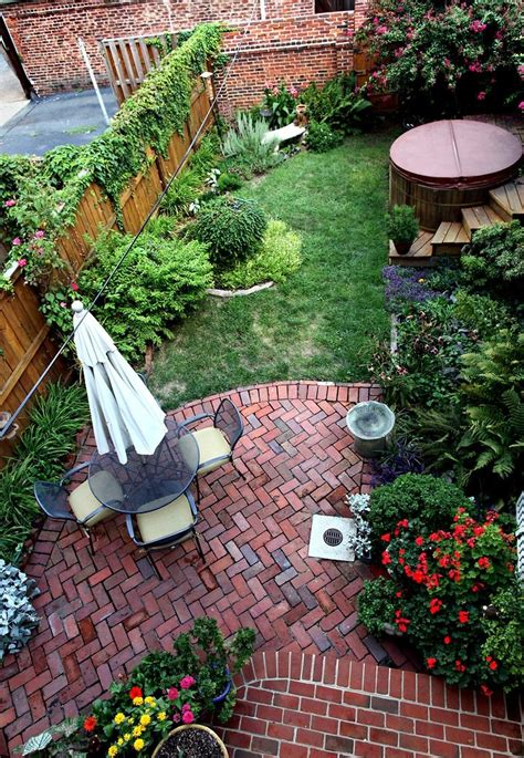 charming brick patio designs