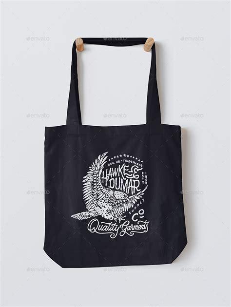black tote bag mockup canvas tote bag mock up by shumchuk graphicriver