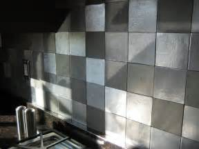 houten keuken creative kitchen backsplash ideas - Metal Wall Tiles Kitchen Backsplash