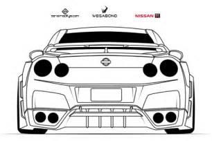 How To Draw A Nissan Gtr Nissan Gtr R35 By Wegabond On Deviantart