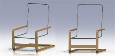 the cad model for the ikea pello chair nicholas mitchell