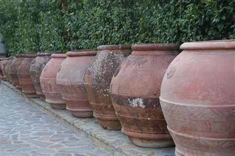vasi in terracotta da giardino vasi da esterni vasi da giardino modelli vaso