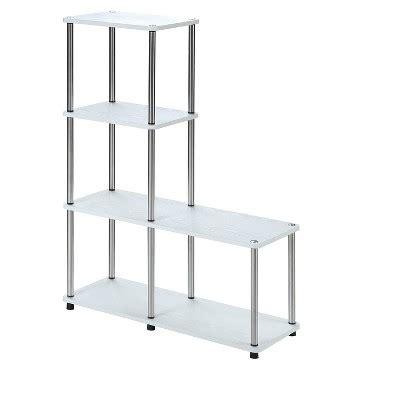 Shelf L Target designs2go multi shelf quot l quot bookshelf white 41 75 quot johar furniture target