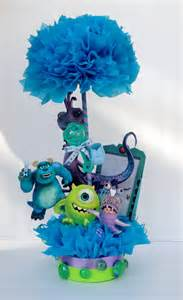 monsters inc centerpiece baby shower by basketsfromatoz on