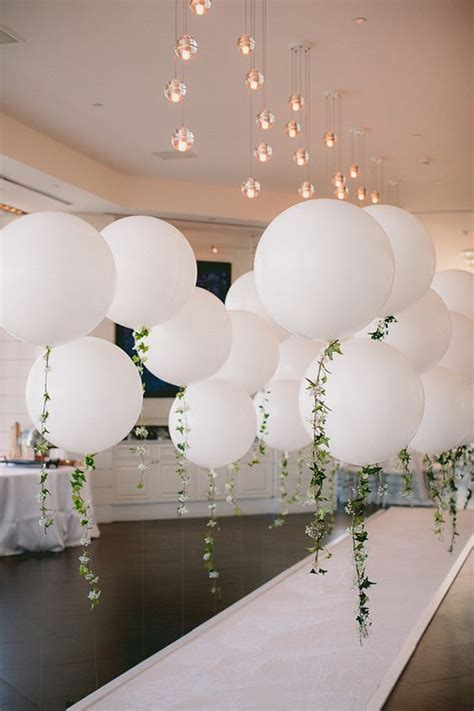 20 Engagement Party Balloon Décor Ideas To Try   Shelterness