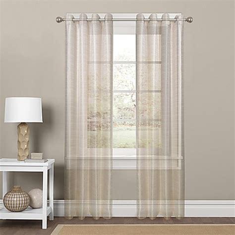 sparkle window curtains colordrift sparkle sheer grommet top window curtain panel
