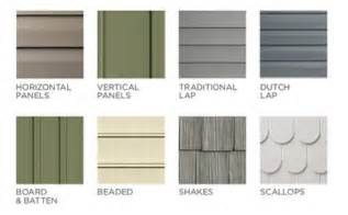 Vinyl Shake Siding Cost Comparison Vinyl Siding Styles Using Different Profiles Textures