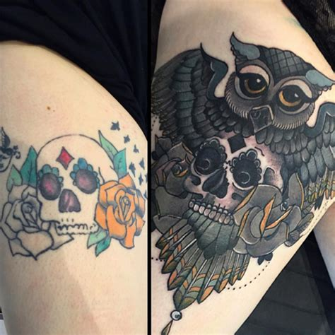 tattoo cover up ideas that turn your bad ink into works of