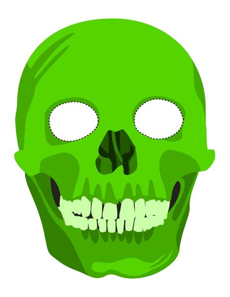 download printable halloween masks spooky halloween mask printables