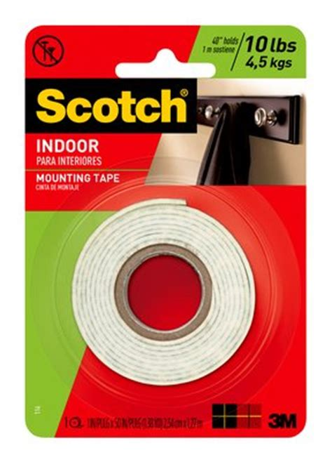 indoor r scotch 174 indoor mounting 1 in x 50 in