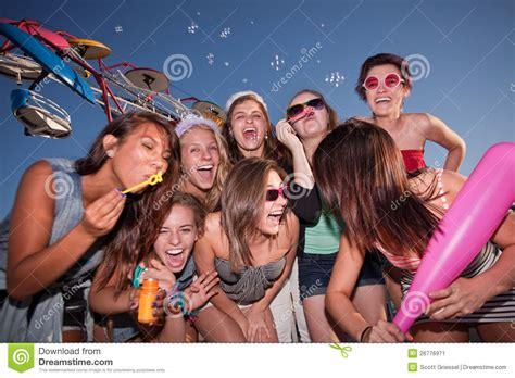 group teen girls laughing group of laughing teen girls stock image image 26776971