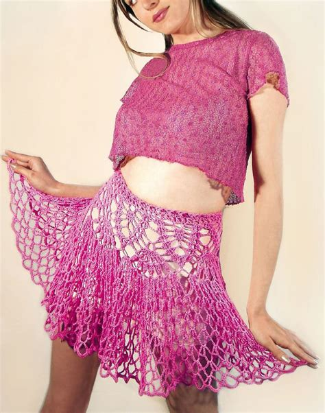 Maderva Maxi Pink 277 best images about crochet skirts on