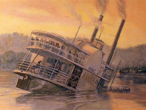 old steam boat steamboat arabia was hiding a truly unbelievable treasure