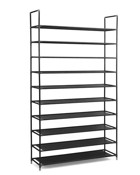 Stainless Steel Shoe Rack by Halter 10 Tier Stainless Steel Shoe Rack Shoe Storage
