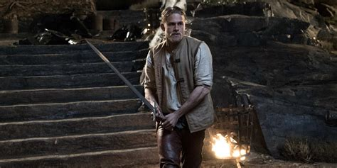 king arthur and the king arthur movie clip features david beckham screen rant