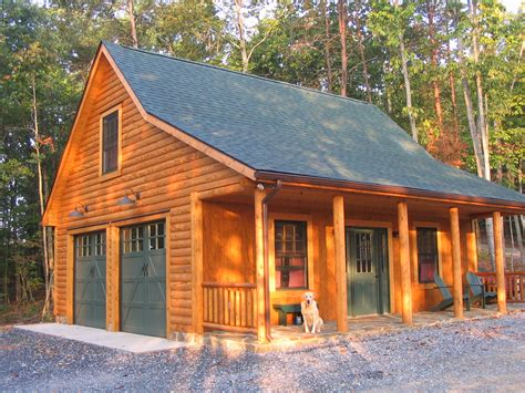 Cabin Plans With Garage Photo Gallery At Cad Northwest