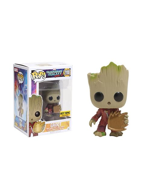 Funko Pop Guadian Of The Galaxy 2 Groot funko marvel guardians of the galaxy vol 2 pop groot vinyl bobble topic exclusive