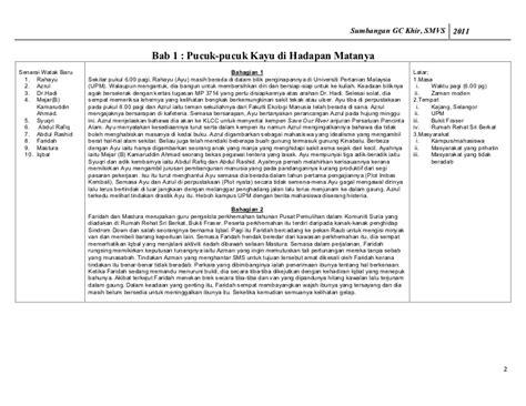 cara membuat novel kabus di perbukitan sinopsis bab demi bab novel kabus di perbukitan